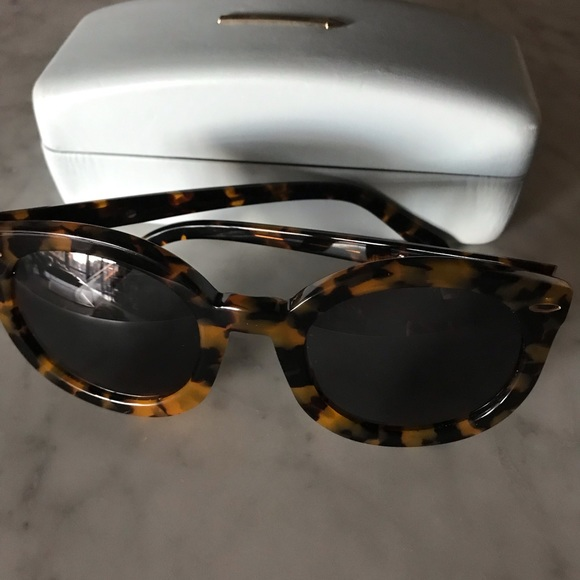 1f555d640b1 Karen Walker Accessories - New Karen Walker Crazy Tort Super Duper  Sunglasses